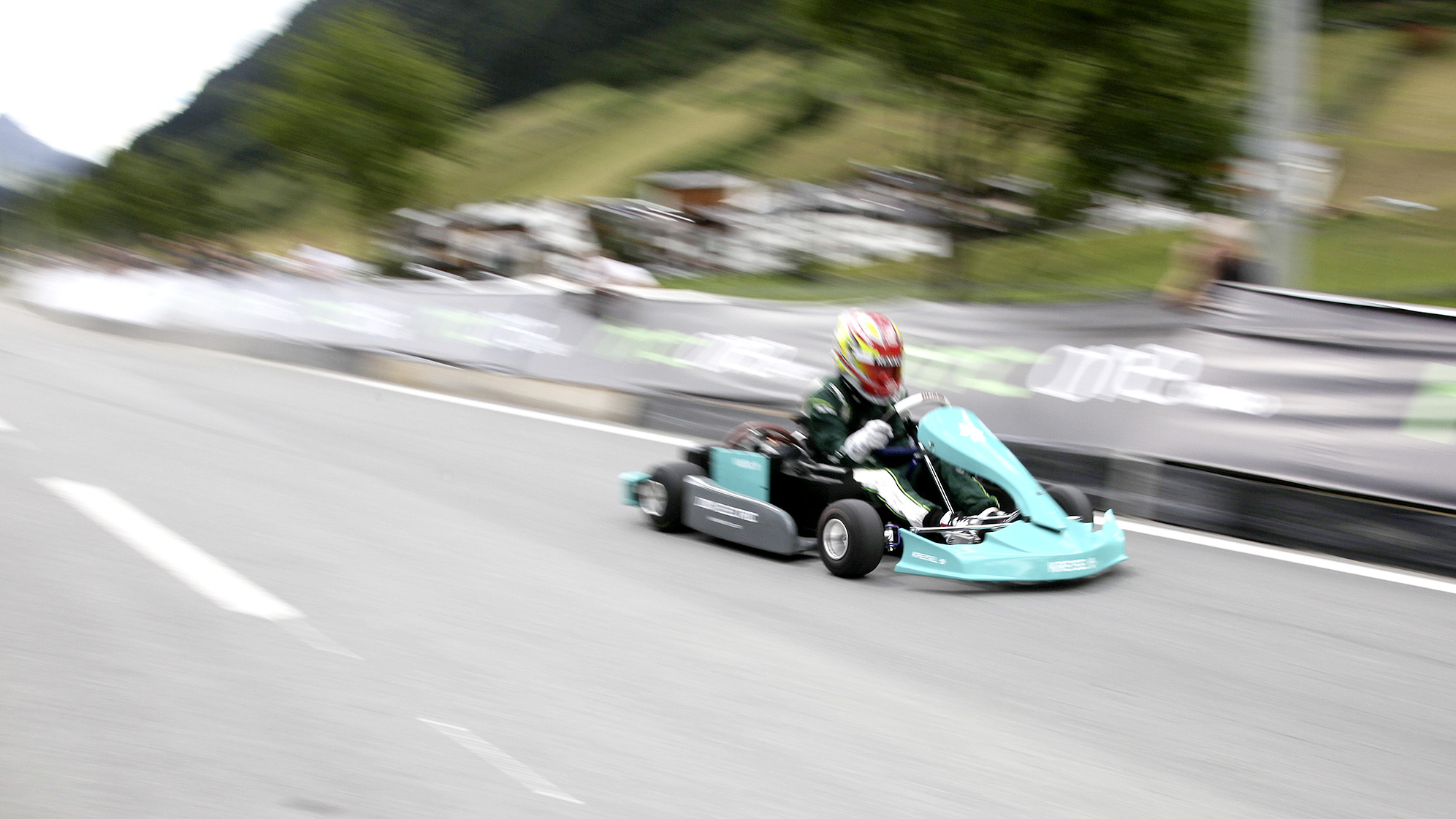 Electric Kart World Record: 0–100 kph in 3.1 seconds