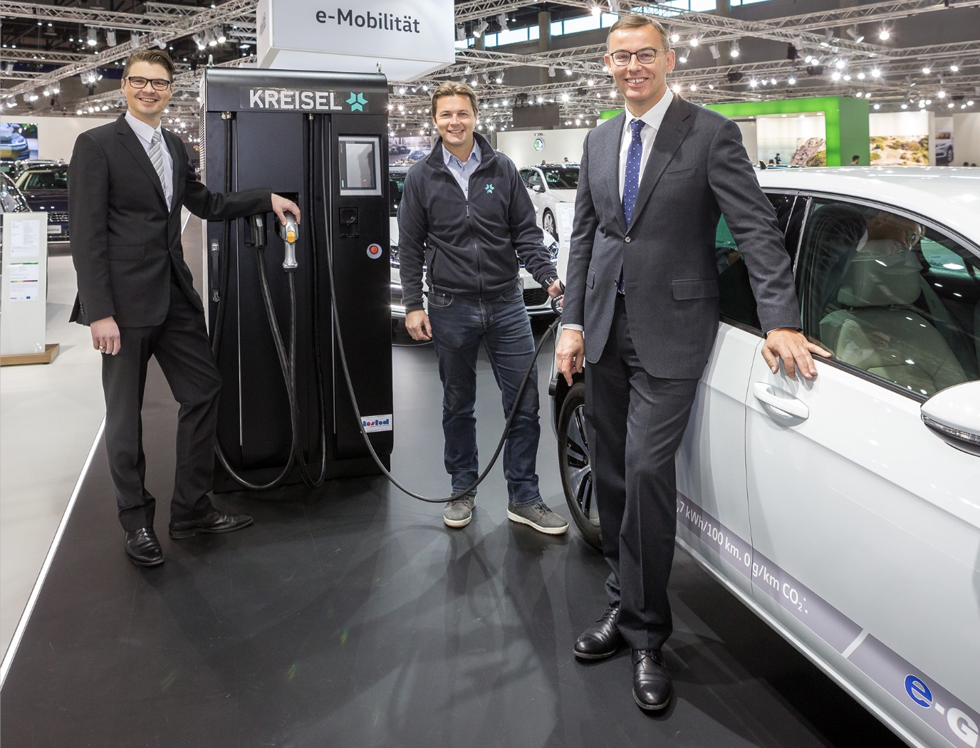 Porsche Austria and Kreisel cooperate in the area of e-charging infrastructure